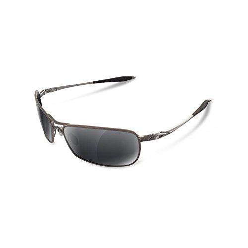 de Polarizadas Sunglasses Lentes Sapphire espejado Recambio 0 Restorer negro Crosshair para Green Oakley 2 twqnfpax