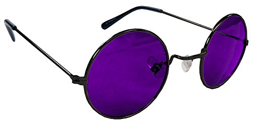 Steampunk Sunglasses with Dark Orchid Lenses By Morpheus® -