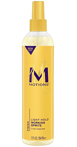 Motions Spritz, Light Hold Working, 12 - Spray Oil Sheen Motions