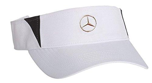Mercedes Benz Visor (Mercedes Benz Limited Edition Lifestyle Collection White Rip Stop Visor Cap)