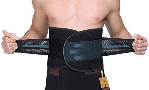 UTRAX Sweating Adjustable Weight Loss Slimming Belt Waist Trimmer Back Support for Men Women 1