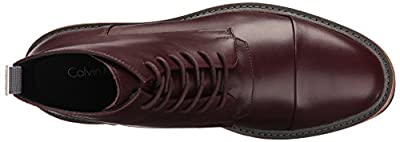 Calvin Klein Men's Jabin Leather Boot