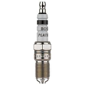 Bosch (4458) HGR8DQP Platinum + 4 Spark Plug, (Pack of 1)