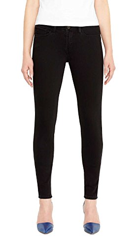 Levi's Junior's 535 Super Skinny Jean, Soft Black, 28W x 32L by Levi's