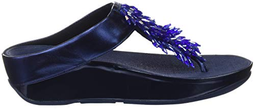 Thong FitFlop Women's Sandal Blue Rumba Meteor rZwZEzxqHW