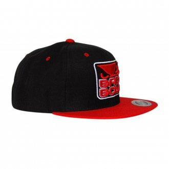 Bad Boy MMA Black Red Snapback Cap ea2bc7c0b8bf
