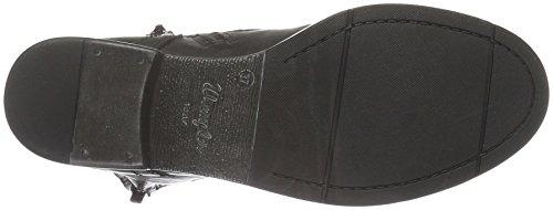 Wrangler Fire Blind Leather, Zapatillas de Estar por Casa para Mujer Negro - Schwarz (62 Black)