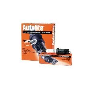 Autolite 104 Copper Resistor Spark Plug, Pack of 1
