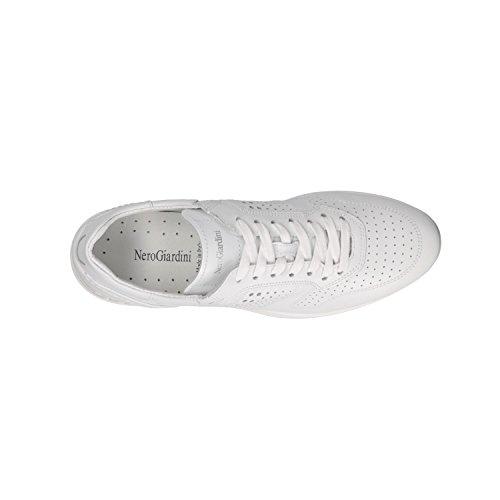 Bianco Para Blanco Mujer P805233D Giardini Zapatillas Nero Yw07qtn