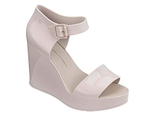 Melissa H8rf0 Mar Caviglia Patent Avorio White Wedge Sandali Strap rBCxoQdeWE