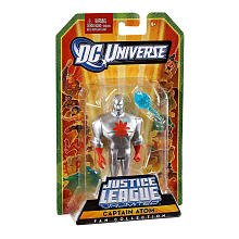 DC Universe Justice League Unlimited Fan Collection Action Figure Captain Atom Silver