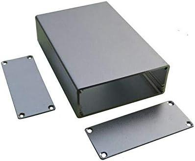TOOLSTAR Caja de proyectos electrónica, 29 x 75 x 110 mm, IP54, caja de aluminio para proyectos de electrónica, caja de conexiones para placa PCB DIY: Amazon.es: Bricolaje y herramientas