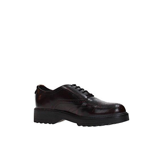Wrangler Zapato Vestir Mujer de Burgundy WL172560 5ZqpT5rw