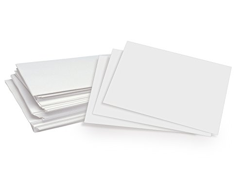 "500 Sheets of Bright White 8.5"" x 5.5"" Half letter Size, Regular 24lb.Paper"