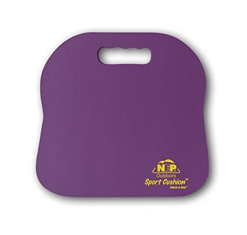 Northeast Products Therm-A-SEAT Sport Cushion Stadium Seat Pad, Purple