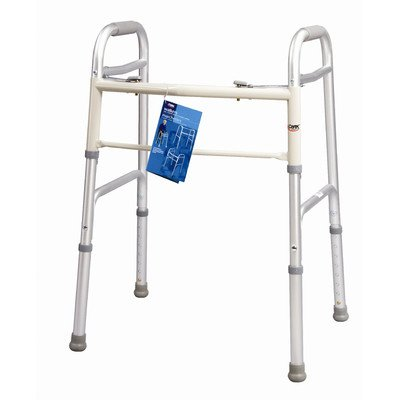 Dual Button Walker Size: Adult by Carex Health Brands