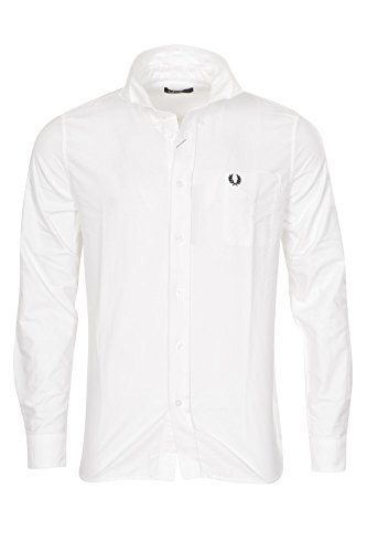 Fred Perry Button-down Business Doppelmanschette - 1 Knopf Loose Fit L
