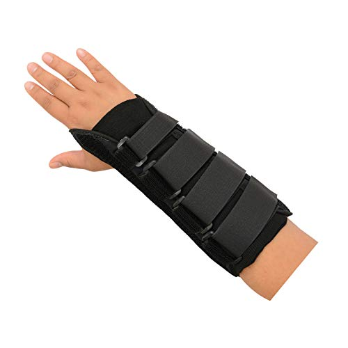 """Sammons Preston 10"""" R-Soft Wrist Support, Right, Medium, Stabilization Splint and Immobilizer for Healing and Recovery of the Hand, Arm, and Wrist, Open Hand Mobility Design for Range of Motion"""