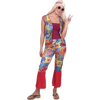 2pc de Hippy para mujer disfraz hippie/70s/Años 60 Fancy Dress ...