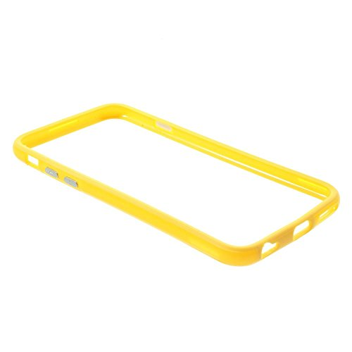 "iProtect Protection Frame Apple iPhone 6 (4,7"") Bumper Schutzhülle gelb"