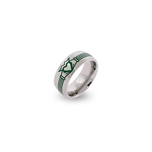 irish claddagh ring for men - 5