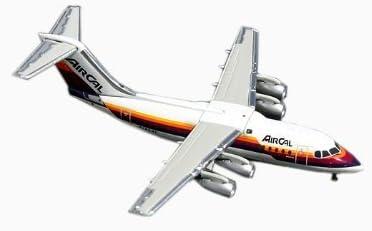 Gemini Jets Air Cal BAe146-200 1:400 Scale [並行輸入品]