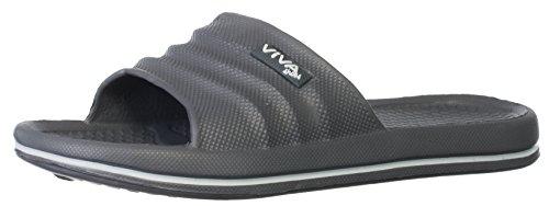 brandsseller Men's Flip Flops Grey 0kf8iWroY