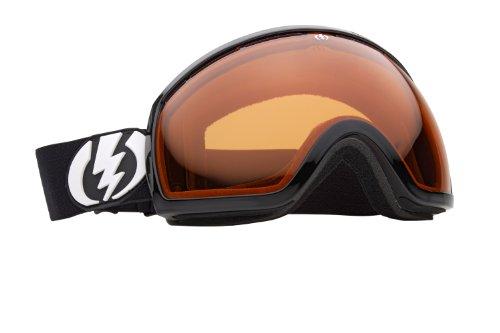 (Electric Visual EG2 Snow Goggle, Gloss Black, Orange)