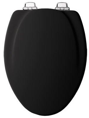 Elong Toilet Seat - BLK Elong WD Toil Seat