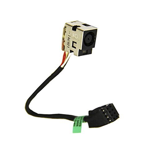 Price comparison product image New Ac Dc-in Power Jack Harness Connector Socket w / Cable For HP Pavilion g6-2122he g6-2211nr 661680-301 2000-2d series 2000-2d24DX 2000-2d27DX