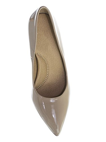 Sole Beige Patent Classified h Medium Cushioned High Inner Comfort Foam Pump Memory City Coen Toe Heel Pointy Super qwTdxYpWga