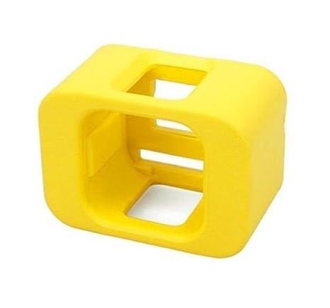 adqq flotador caso Vivienda cubierta para GoPro Hero5 sesión/HERO4 sesión (amarillo)