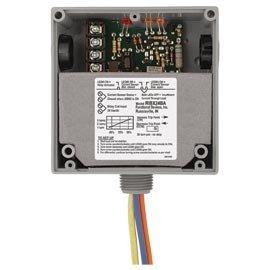 Functional Devices (RIB) RIBX24BA Enclosed Internal AC Sensor, Adjustable + Relay 20Amp SPDT 24Vac/dc