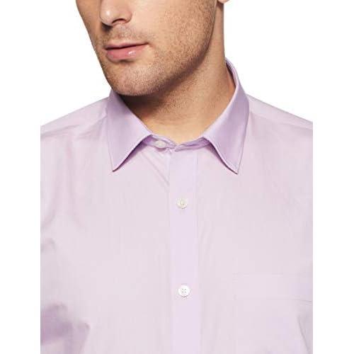 31F1QLYPjyL. SS500  - Amazon Brand - Symbol Men's Solid Formal Shirt