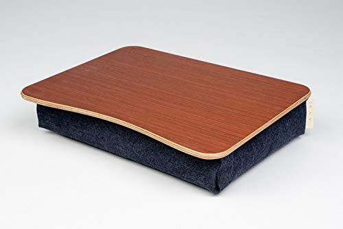 - Wooden Laptop Bed Tray/Mahogany Desk/iPad Table/Pillow Tray/Breakfast Tray/Laptop Stand Mahogany
