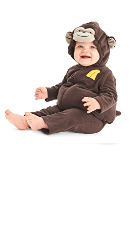 [Carters Baby Halloween Costume Many Styles (12m, Little Monkey)] (Monkey Halloween)