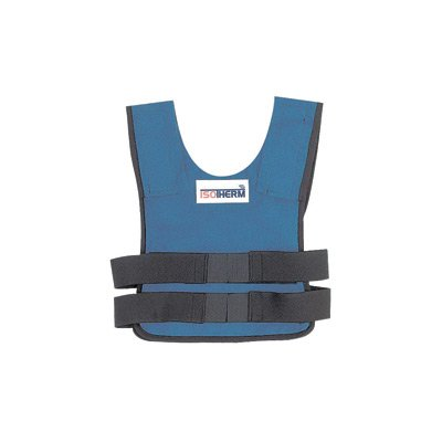 Bullard® Medium - Large Blue Isotherm® II Proban Treated Cotton Cooling Vest With Hook And Loop Closure And (2) Cool Packs