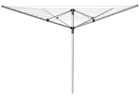 Marca nueva 55 m de 4 brazo rotatorio jardín tendedero secador de ropa tendedero + cubierta de libre: Amazon.es: Jardín