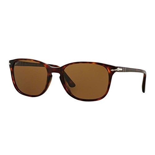 PO3133S Sonnenbrille Havana Marron Persol Polarbrown 1AgxZwf1q