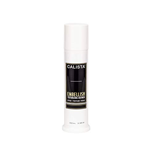 Calista Tools Embellish Deluxe Dry Texturizing, Lightweight Styling Paste, For All Hair Types, 3.38 oz