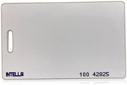 100 Keycards Proximity Prox Card Works With HID ISOProx 1326 1386 26-Bit H10301