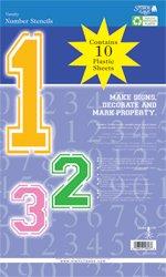 Varsity Number Stencil Sets - 16 inch - 7.5 mil standard