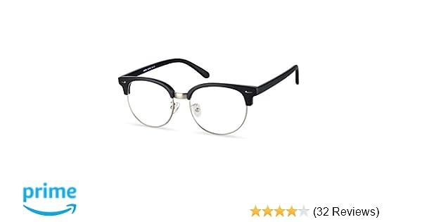 e9567afd50e Amazon.com  LifeArt Blue Light Blocking Computer Reading Glasses with  Transparent Lens for Women Men (LA Narita