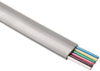 28 AWG NEW Gray Flat Wire Cable, 25-Conductor 4 feet