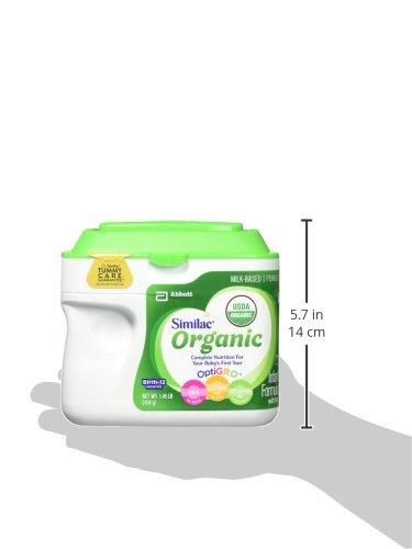 Similac Organic Infant Formula with Iron, USDA Certified Organic, Baby Formula, Powder, 1.45 lb (Pack of 6) by Similac (Image #8)