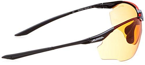 Orange Gläser Unisex Tri Varioflex Black; Nero Alpina Fassung Sportivi S1 Occhiali scray 2 vqOn8HO