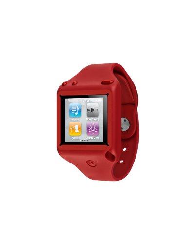 SwitchEasy SW-TKN6-R Ticker Wrist Strap for iPod Nano 6G - Red