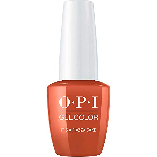 OPI Gel Color Nail Polish, It's a Piazza Cake, 0.5 Ounce