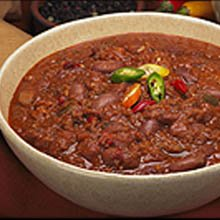 Blount Fine Foods Beef Chili with Beans - 4 lb. package, 4 per case