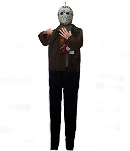 6 Ft. - New Line Cinema - Friday the 13th - Jason Hanging Decoration